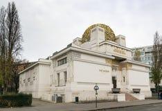 Edificio de la secesión, Viena fotografía de archivo libre de regalías