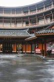 Edificio de la tierra en la ciudad antigua de Luodai, China imágenes de archivo libres de regalías