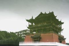 Edificio de la tierra en la ciudad antigua de Luodai, China fotografía de archivo libre de regalías