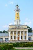 Edificio de la torre de fuego en el cuadrado de Susaninskaya, Kostroma, Rusia Foto de archivo