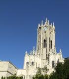 Edificio de la torre de reloj Fotos de archivo