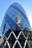 30 edificio de la torre del St Mary Axe en la ciudad de Londres, Reino Unido Fotografía de archivo