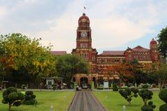 Edificio de la tribunal superior en Myanmar imagen de archivo libre de regalías