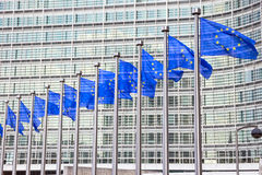 Edificio de la UE Foto de archivo