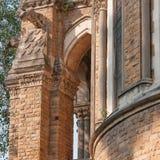 Edificio de la universidad de Bombay en el campus del fuerte, Bombay, la India foto de archivo libre de regalías