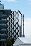Edificio de la universidad de Salford en Manchester Reino Unido Imágenes de archivo libres de regalías