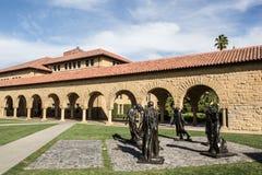 Edificio de la universidad de Standford Fotografía de archivo