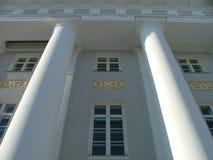 Edificio de la universidad de Tartu imágenes de archivo libres de regalías