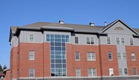 Edificio de la universidad de Thomas Imagen de archivo