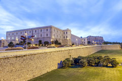 Edificio de la universidad en Cartagena, España imagen de archivo libre de regalías