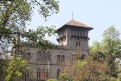 Edificio de la universidad de la ingeniería, COEP, Pune imágenes de archivo libres de regalías