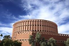 Edificio de la Universidad-Música del estado de Arizona fotos de archivo libres de regalías