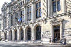 Edificio de la universidad Sorbonne Imágenes de archivo libres de regalías