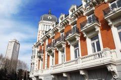 Edificio de la Verklig Compania Asturiana de Minas Royaltyfri Bild