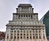 Edificio de la vida de Sun - Montreal, Canadá imagenes de archivo