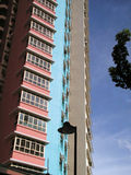 Edificio de la vivienda de protección oficial Imagenes de archivo