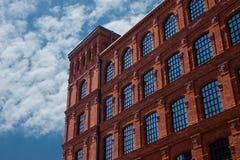 Edificio de ladrillo Fotografía de archivo