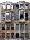Edificio de ladrillo abandonado Fotos de archivo