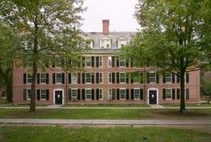 Edificio de ladrillo colonial Imagen de archivo