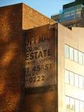 Edificio de ladrillo, Manhattan, Nueva York Foto de archivo libre de regalías
