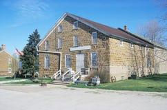 Edificio de ladrillo viejo Foto de archivo libre de regalías