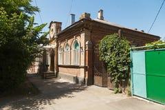 Edificio de ladrillo viejo Fotografía de archivo libre de regalías