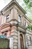 Edificio de ladrillo viejo de la arquitectura fotografía de archivo libre de regalías