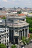 Edificio de Las Cariátides, Madrid, Spain Royalty Free Stock Photography