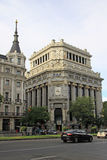 Edificio de Las Cariatides,马德里,西班牙 库存图片