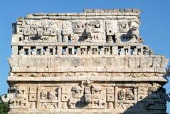 Edificio de las Monjas in the Mayan city Chichen Itza Royalty Free Stock Photo
