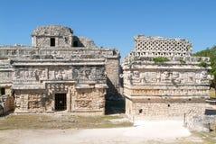 Edificio de las Monjas in the Mayan city Chichen Itza Stock Photos