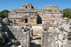 Edificio de las Monjas in the Mayan city Chichen Itza Royalty Free Stock Photos