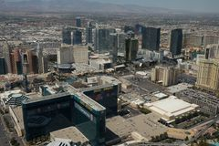 Edificio de Las Vegas Fotografía de archivo