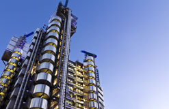 Edificio de Lloyd, Londres Fotografía de archivo