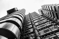 Edificio de Lloyds, Londres Reino Unido Imágenes de archivo libres de regalías