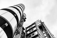Edificio de Lloyds, Londres Reino Unido Fotografía de archivo