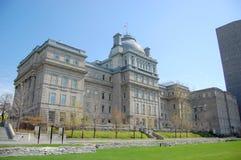 Edificio de Lucien-Saulnier, Montreal vieja Imágenes de archivo libres de regalías