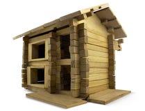 Edificio de madera Imágenes de archivo libres de regalías