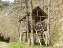 Edificio de madera Fotografía de archivo libre de regalías