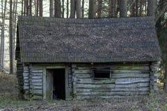 Edificio de madera Foto de archivo
