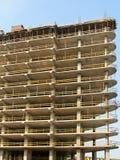 Edificio de marco del concreto reforzado Fotografía de archivo libre de regalías