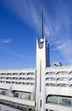 Edificio de Marine Station Sea Port en puerto en St Petersburg, Rusia Foto de archivo libre de regalías