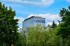 Edificio de Michelin en Olsztyn fotos de archivo libres de regalías