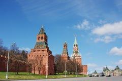 Edificio de Moscú Kremlin en el área roja Fotografía de archivo libre de regalías