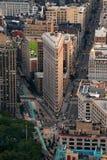 Edificio de New York City Flatiron Imagen de archivo libre de regalías