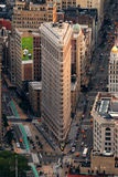 Edificio de New York City Flatiron en Manhattan Fotos de archivo