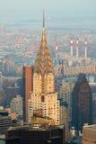 Edificio de New York City Manhattan Chrysler Imagenes de archivo