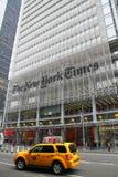 Edificio de New York Times Foto de archivo libre de regalías