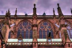 Edificio de Notre Dame   Imagen de archivo libre de regalías