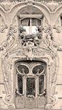Edificio de Nouveau del arte Foto de archivo libre de regalías